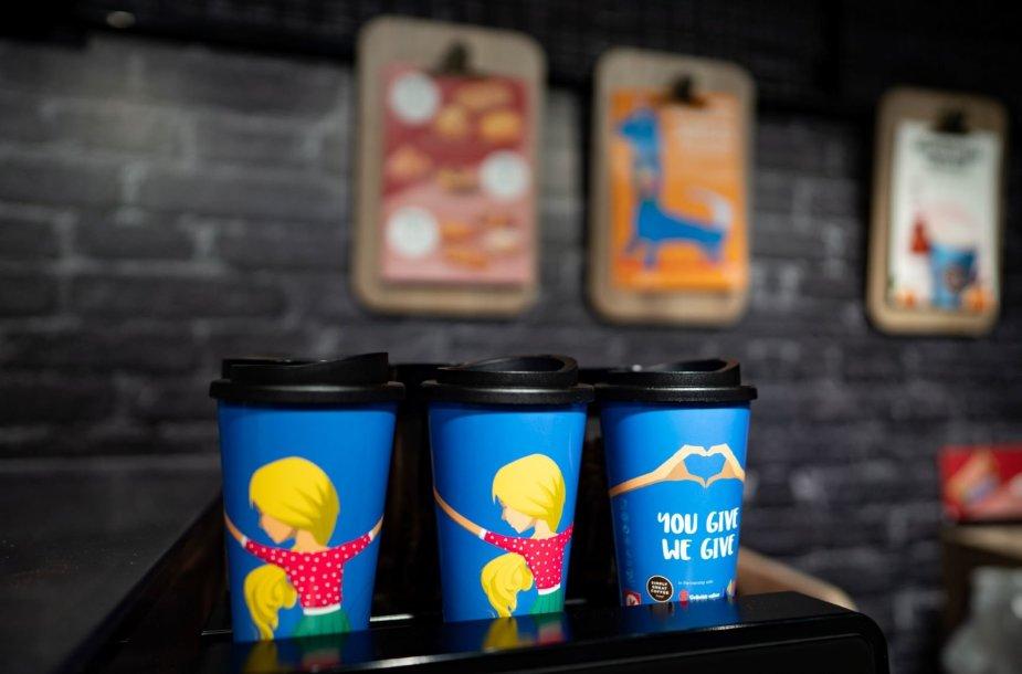 "Akcijos ""You give, we give"" puodeliai"