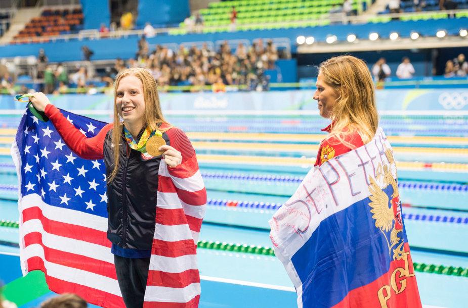 Lilly King iškovojo auksą