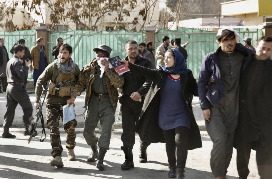 Kabule nugriaudėjo sprogimas