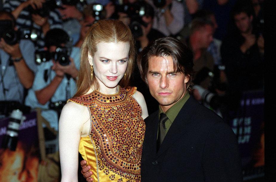 Tomas Cruise'as ir Nicole Kidman (1999 m.)
