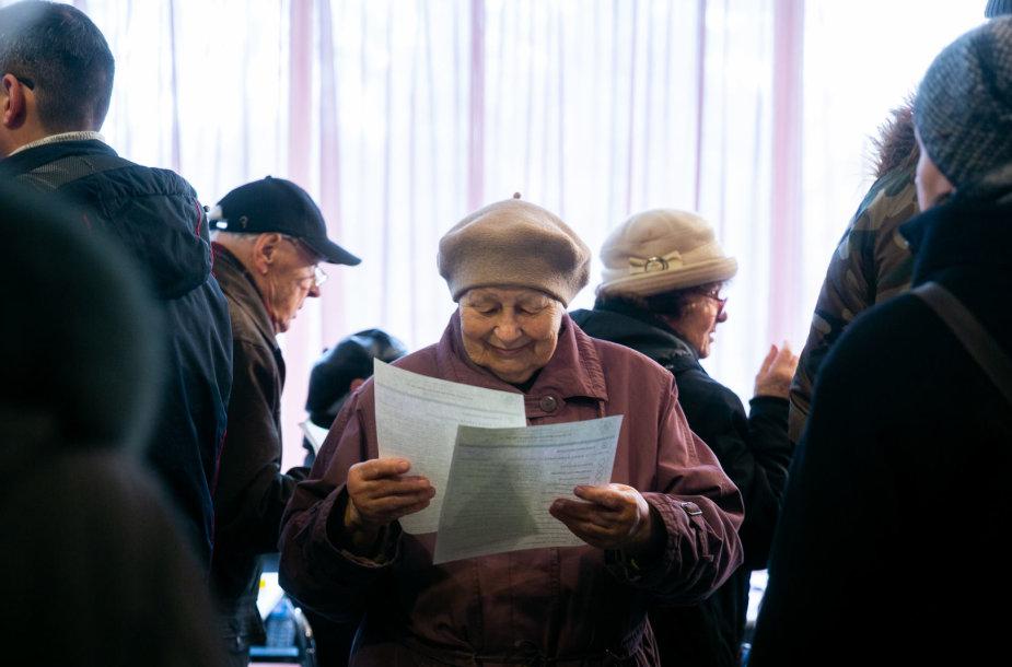 Savivaldos rinkimai Raitininkų apylinkėje Vilniuje