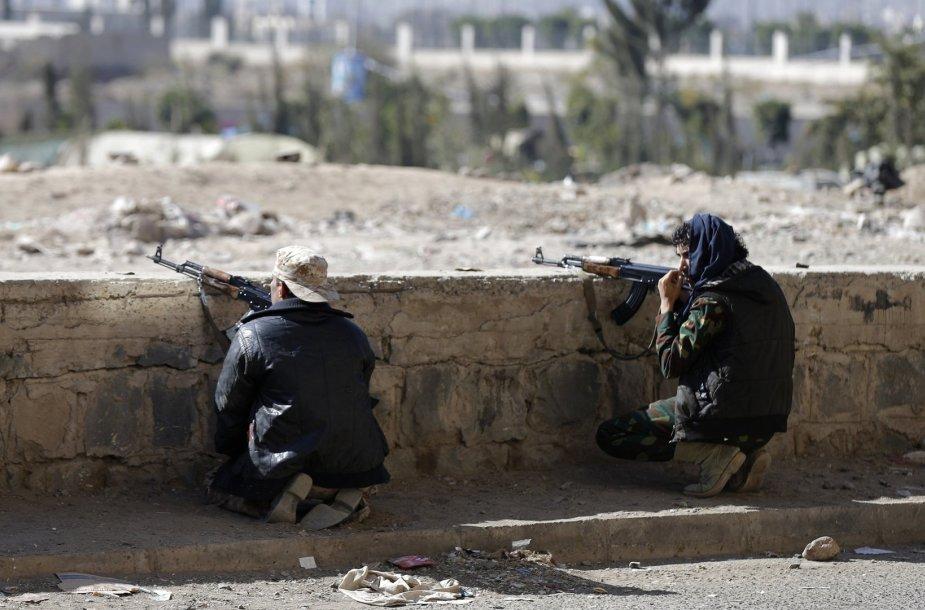 Husių kovotojai Sanoje