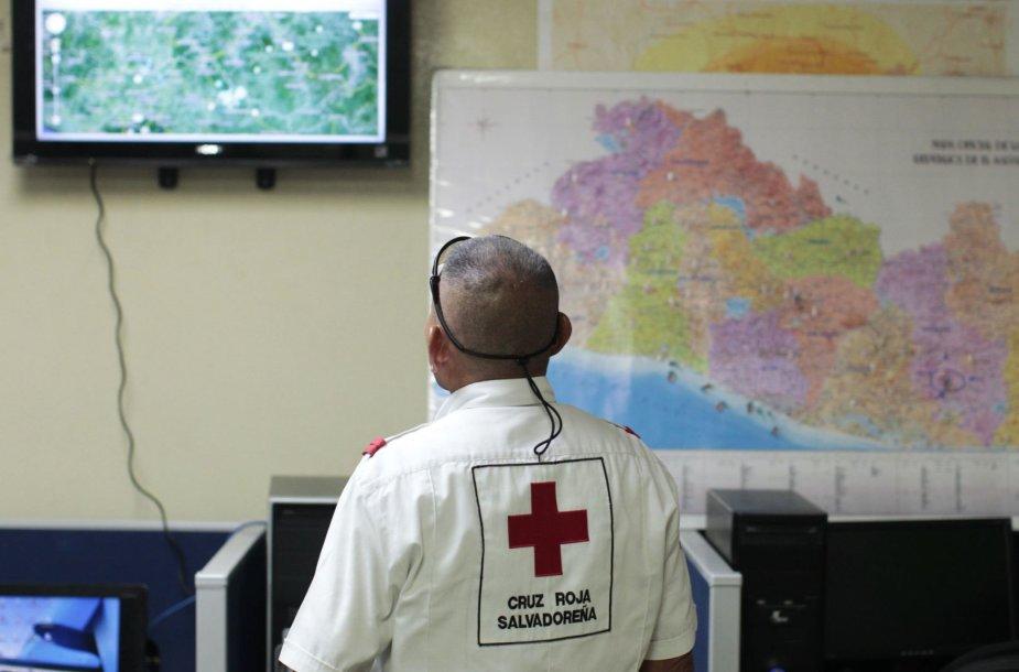 Žemės drebėjimas Salvadore