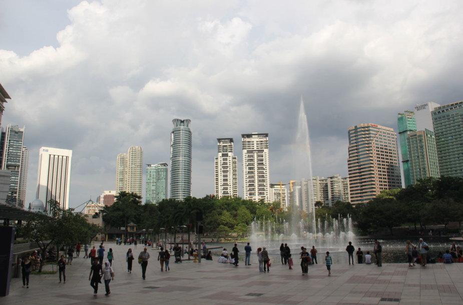 Lietuvės studentės Ugnės Poderytės nuotykiai Malaizijoje: Kvala Lumpūras