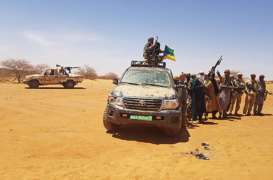 Džihadistai prie Nigerio sienos su Maliu