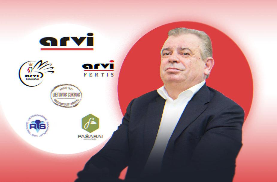 """Vidmantas Kučinskas, """"Arvi"""" grupės įkūrėjas"""