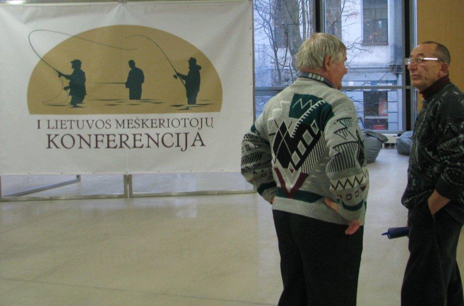Žvejų mėgėjų konferencija Kaune