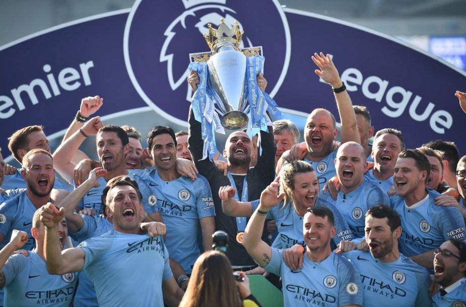 """Manchester City"" triumfas ""Premier"" lygoje"