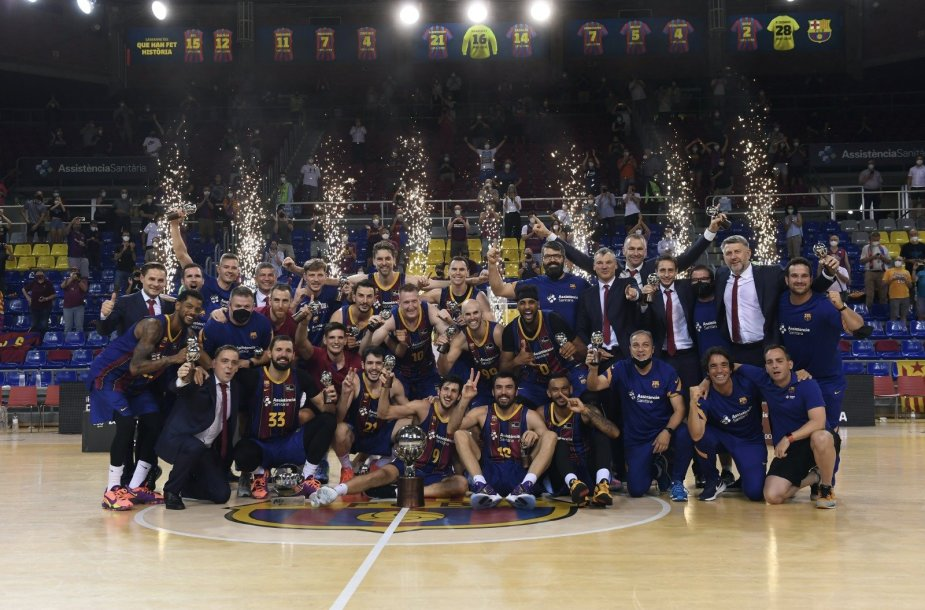 """""""Barcelona"""" – ACB pirmenybių čempionė"""