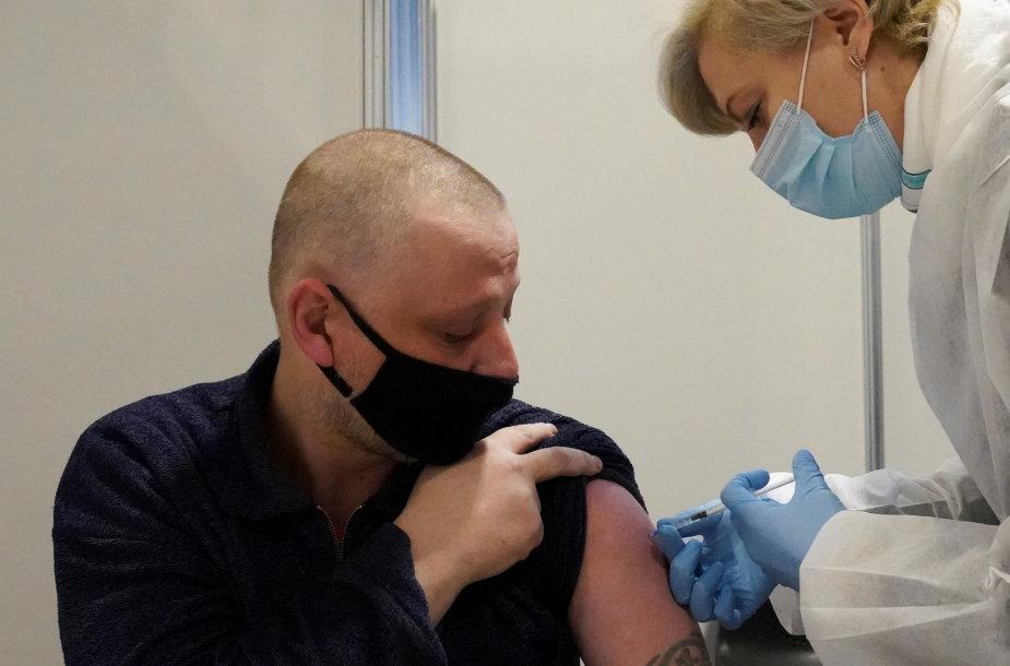 Vakcinacija Rygoje