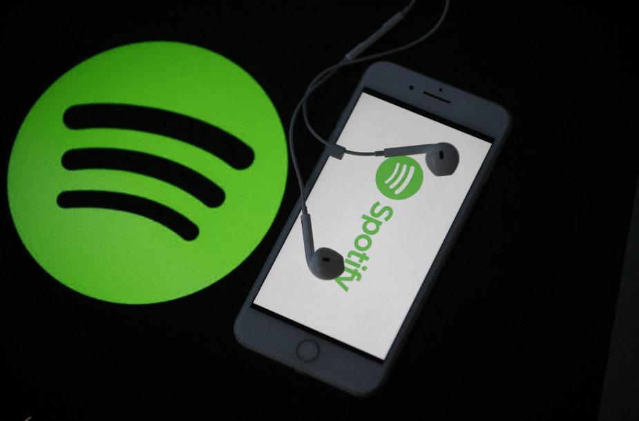 """""""Spotify"""" logotipas"""