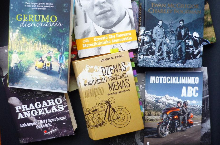 Knygos apie motociklizmą
