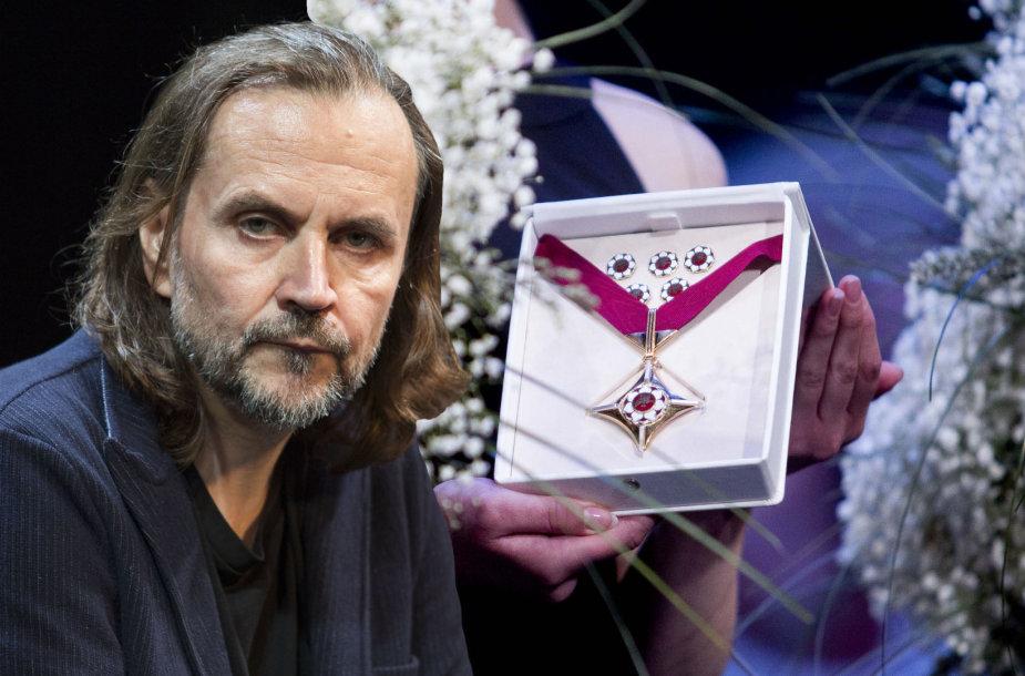 """Oskaras Koršunovas pasisakė apie """"Auksinius scenos kryžius"""""""