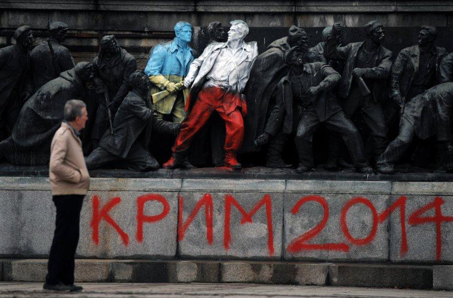 Ukrainoje pirmą kartą buvo išbandytas hibridinio karo modelis.