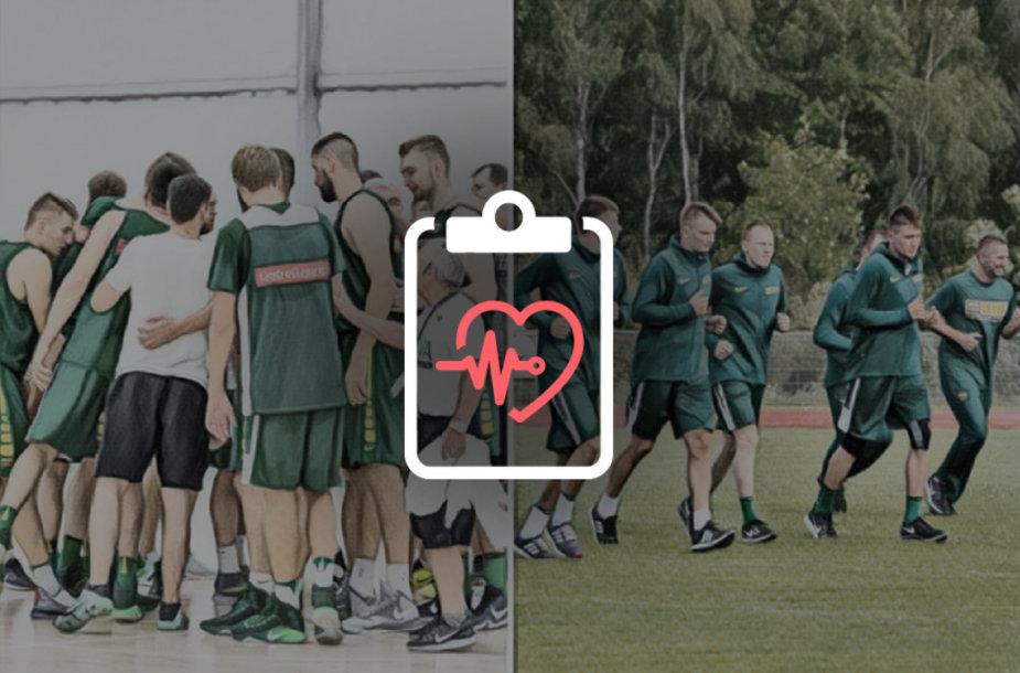 Lietuvos krepšininkų sveikatos testai kelia nerimą