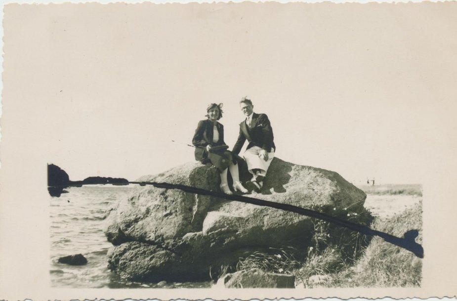 Stanislava ir Jonas Ruzgiai. Ne vėliau kaip 1941 m.
