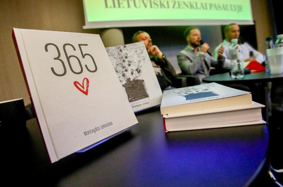 """Mantvydo Leknicko knygos """"365 priežastys mylėti"""" pristatymas"""