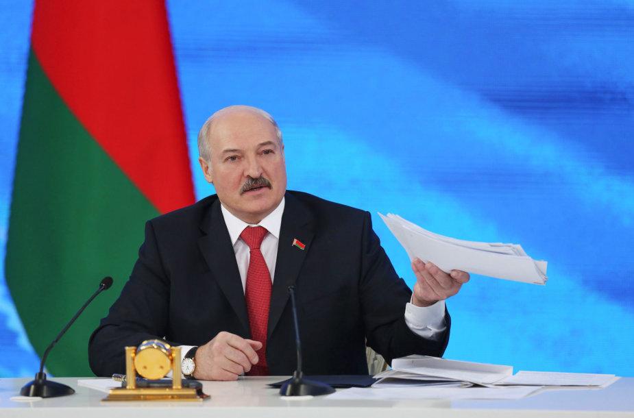 Aliaksandras Lukašenka.