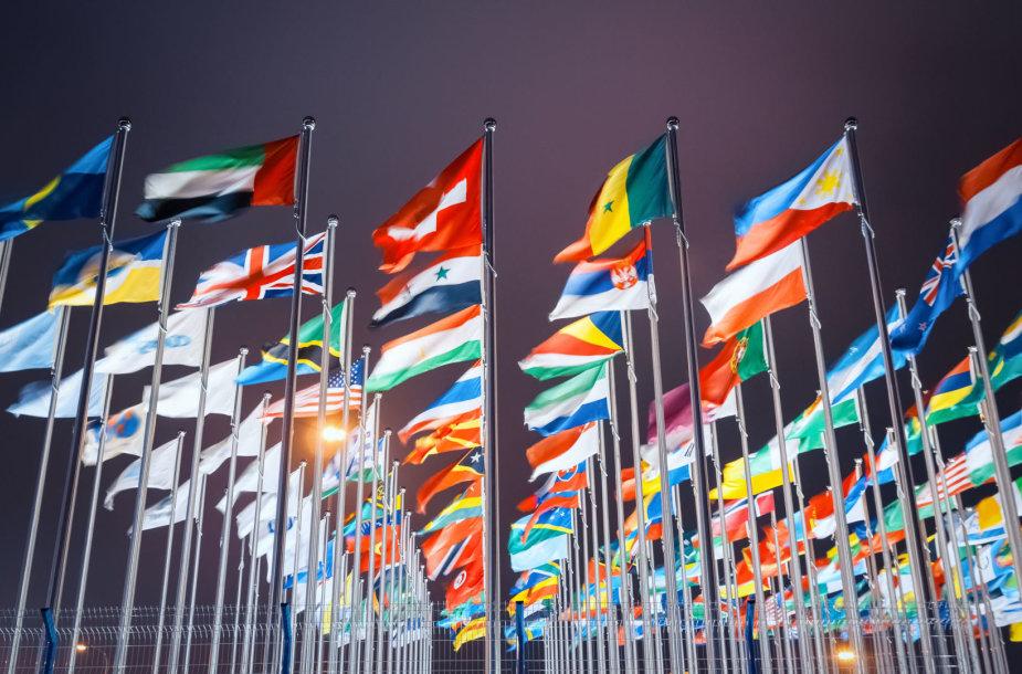 Pasaulio šalių vėliavos