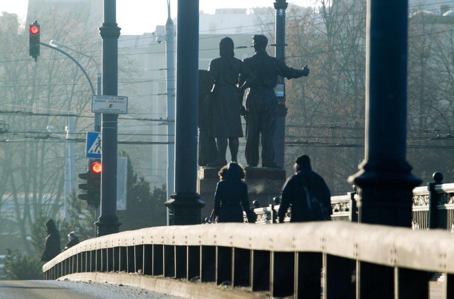 Saulėtas antradienis Vilniuje