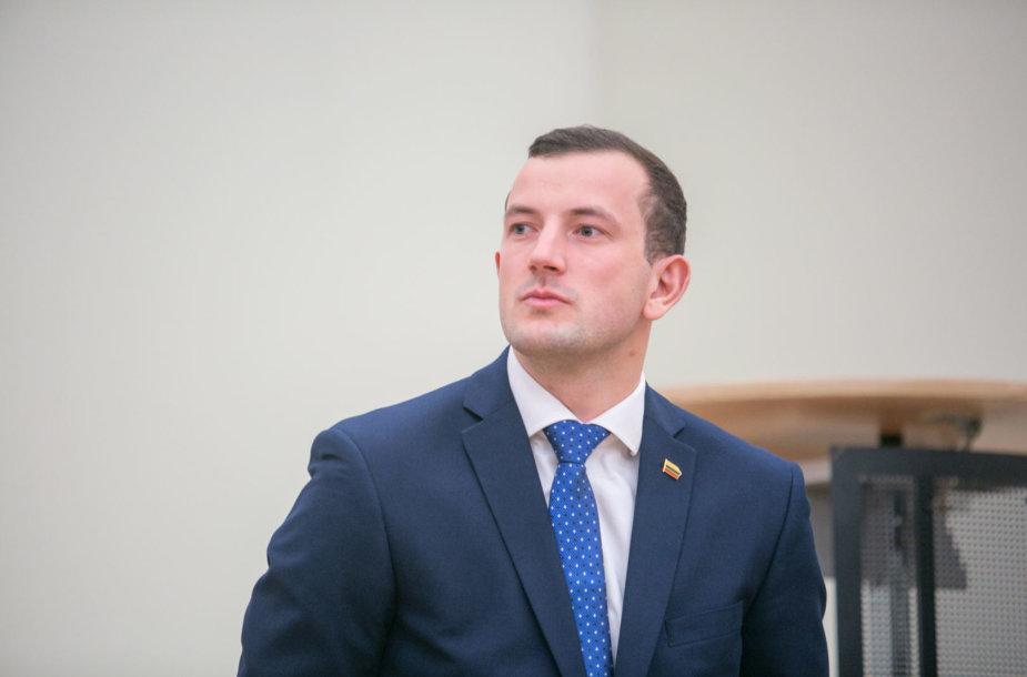 Saulius Skvernelis pristatė naująjį ūkio ministrą