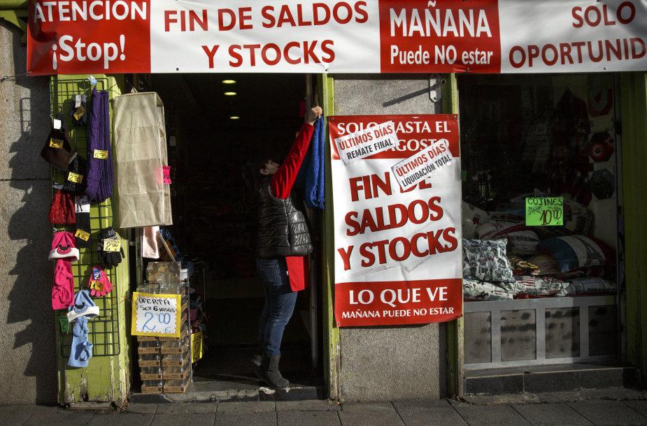 Parduotuvėlė Madride