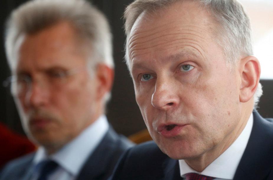 Latvijos centrinio banko prezidentas Ilmaras Rimševičius