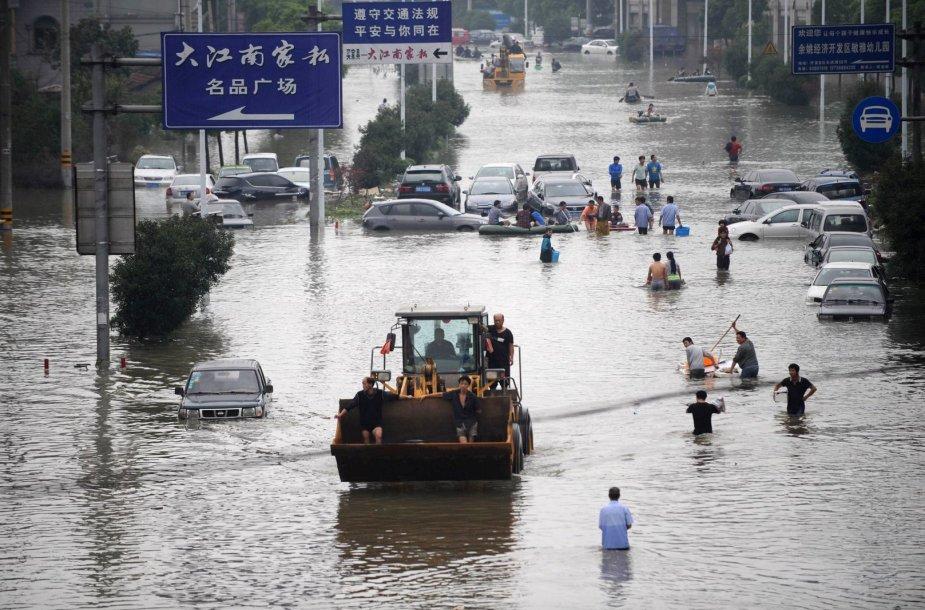 Taifūno Kinijoje padariniai