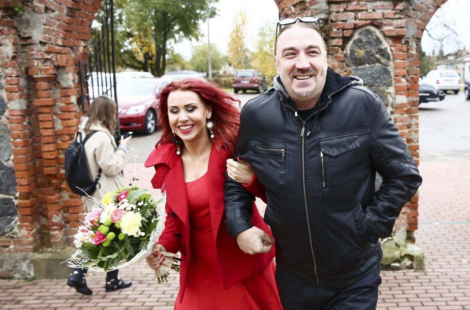 Indrė Launikonytė ir Vladas Kovaliovas