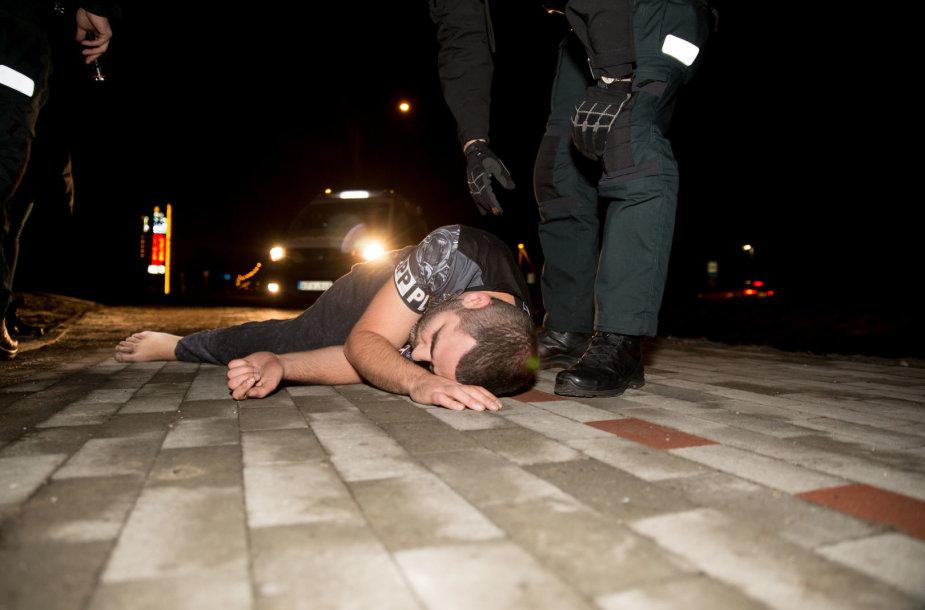 Naujųjų metų naktis su Kauno policija