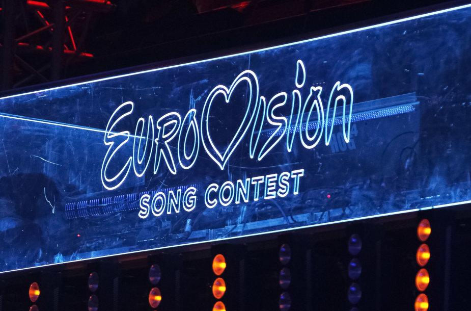 """""""Eurovizijos"""" logotipas"""