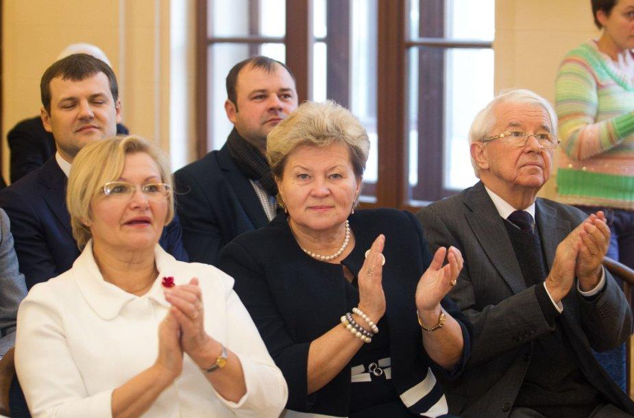 Paminėtas Lietuvos socialdemokratų partijos 25 metų atkūrimas.
