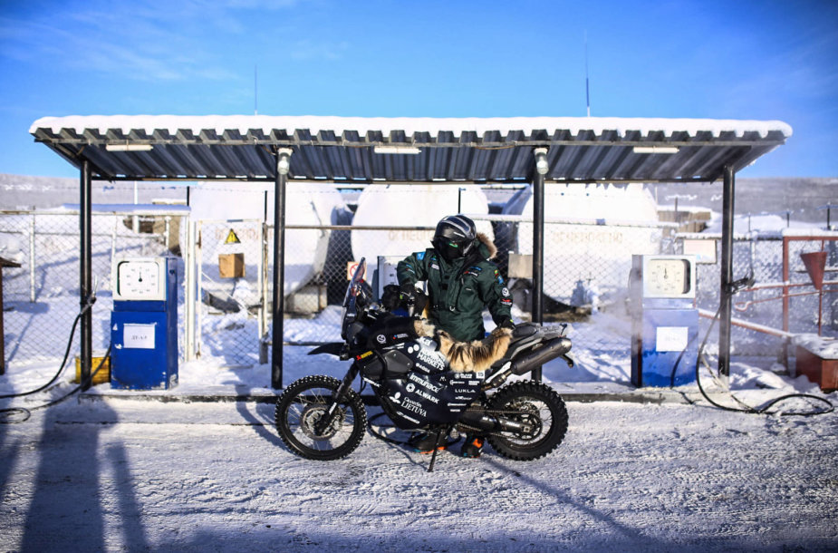 """""""The coldest ride"""": ketvirtoji diena ir nakvynė pas elnių augintojus"""
