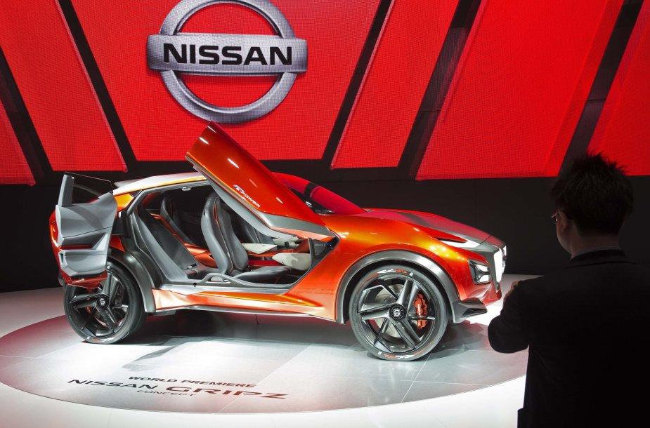 """""""Nissan Gripz"""" koncepto pristatymas Frankfurto automobilių parodoje"""