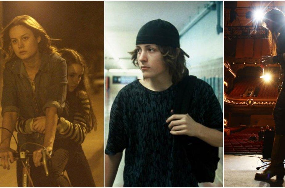 """Kadrai iš filmų """"Internatas"""", """"Riedlenčių parkas"""", """"Nico, 1988"""""""