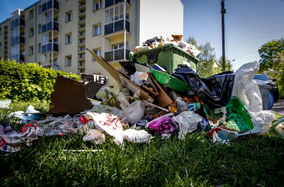 Atliekų konteineriai Vilniuje