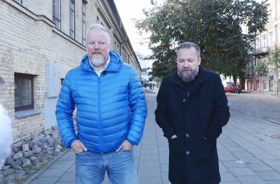 Vytaras Radzevičius ir Martynas Starkus