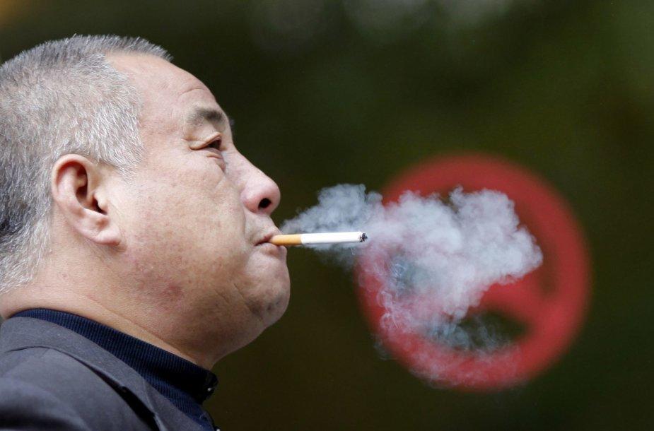 Rūkantis žmogus