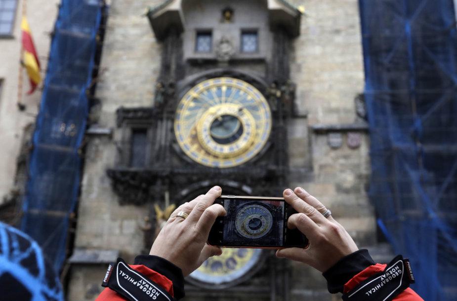 Prahos laikrodis