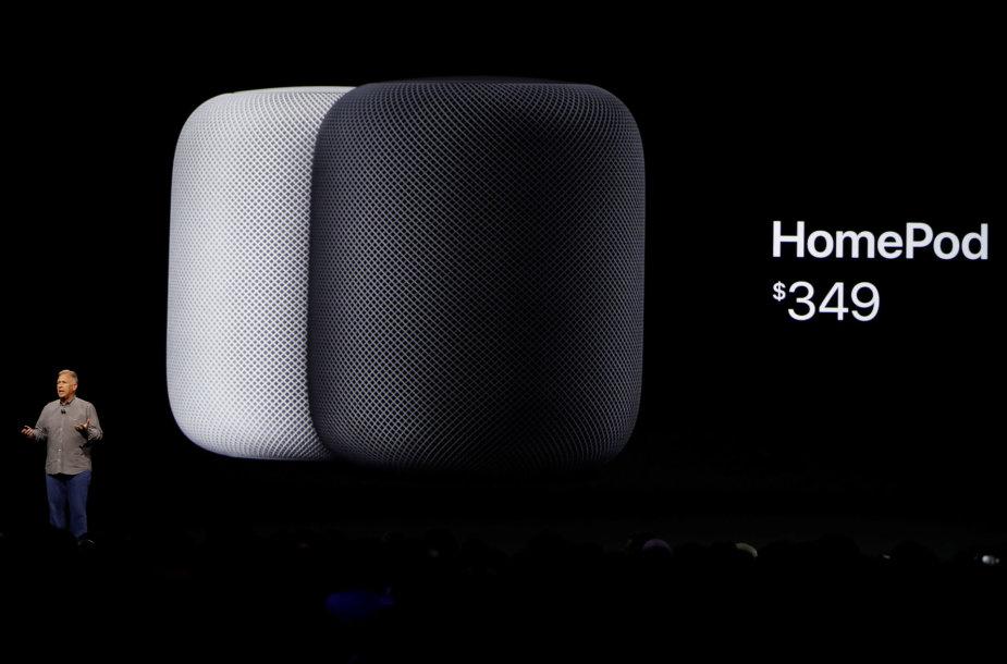 """Apple"" naujoji garso kolonėlė ""HomePod"""