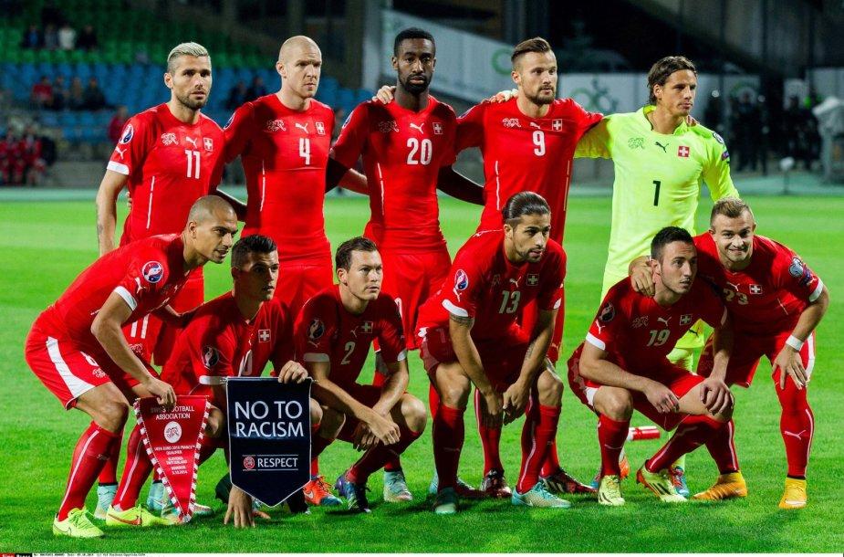 Šveicarijos futbolo rinktinė