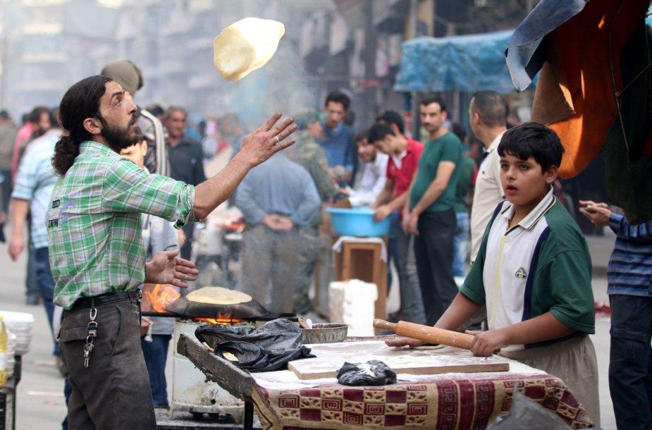 Gyvenimas Alepe