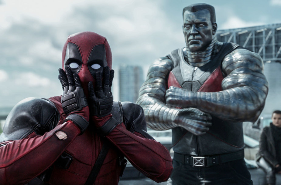 "Ryanas Reynoldsas ir Stefanas Kapičičius filme ""Deadpool"""