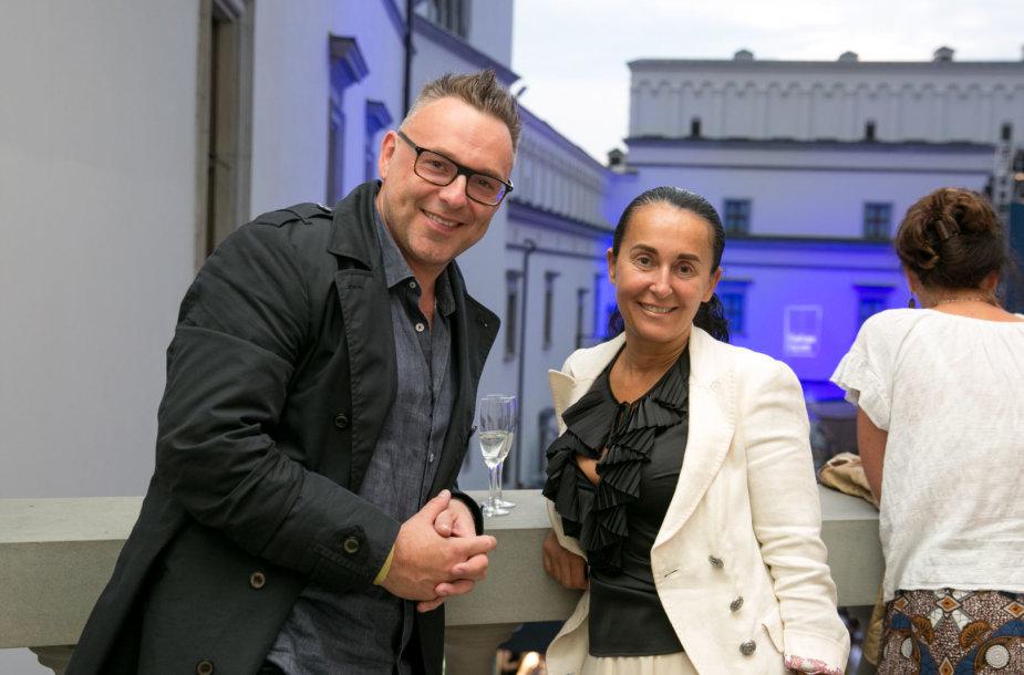 Egmontas Bžeskas ir Aurika Žaromskytė