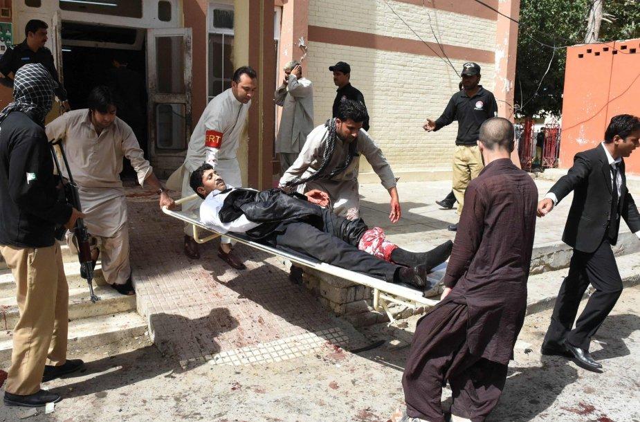 Sprogimas Pakistano ligoninėje
