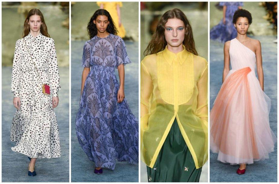 """""""Carolina Herrera"""" kolekcijos modeliai"""
