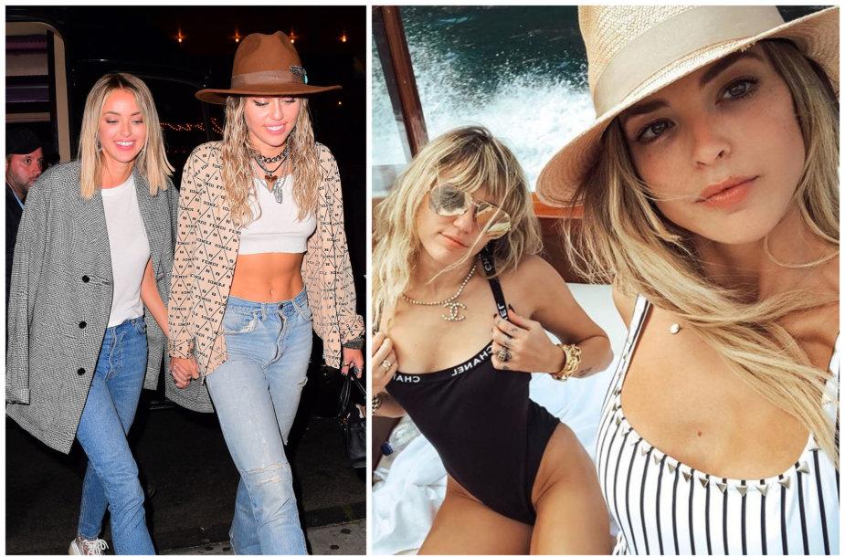 Miley Cyrus ir Kaitlynn Carter