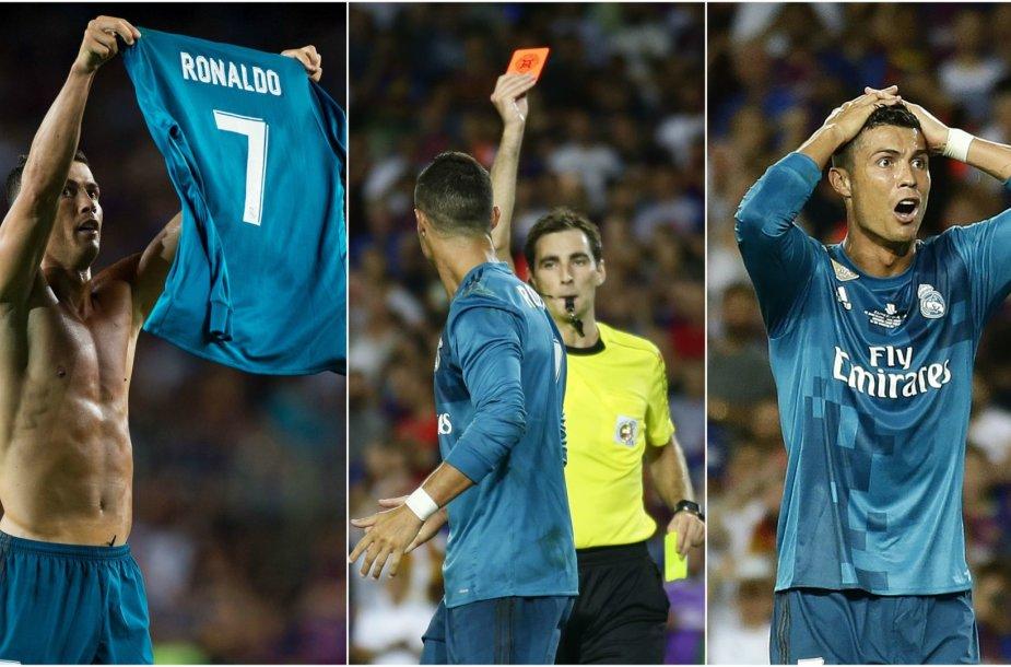 Cristiano Ronaldo pasirodymas truko tik apie 14 minučių