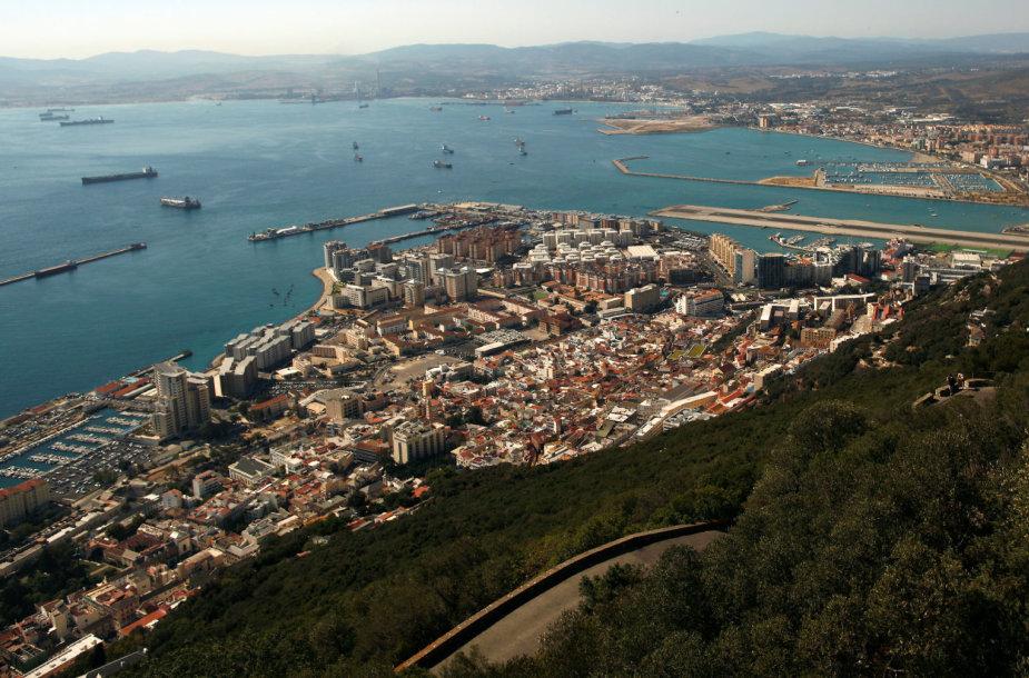 Britams priklausantis Gibraltaras