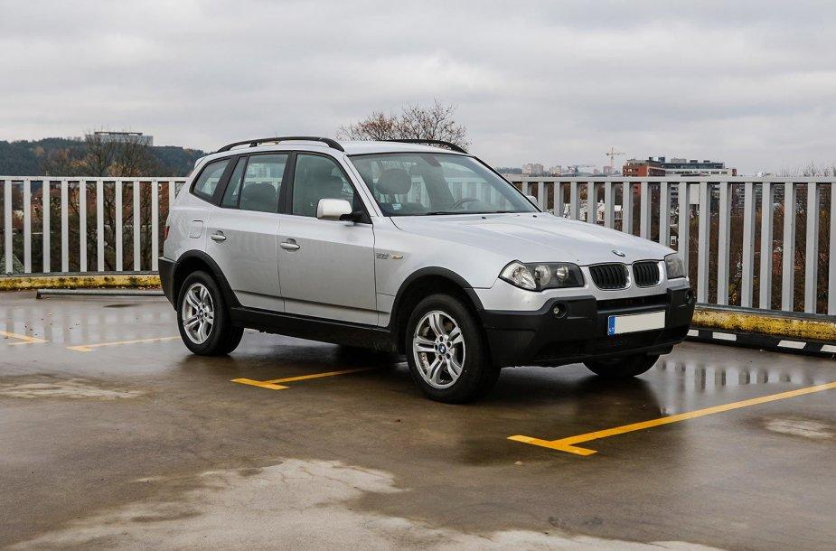 BMW X3 (2010 m.).